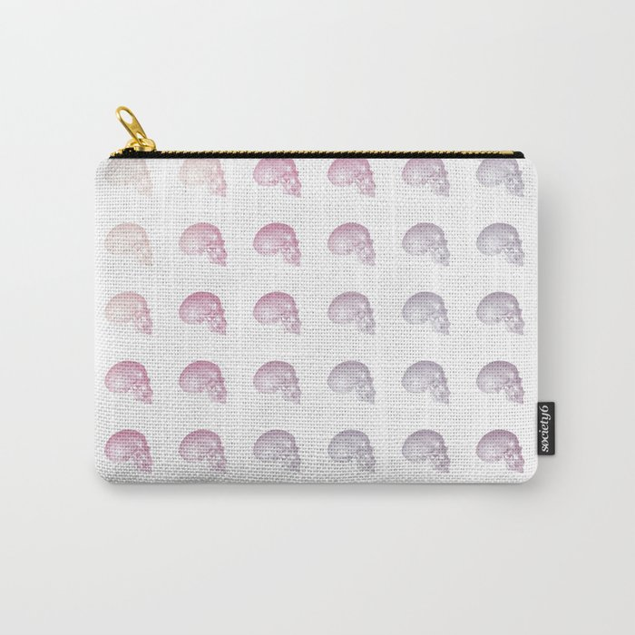 Pastel Skull Life Carry-All Pouch