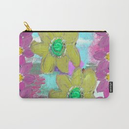 FLORAL MASHUP Carry-All Pouch