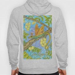 Fruits and Fantasy: Gooseberry/Lizard Hoody