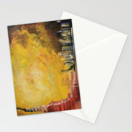Resta immobile / Remains motionless Stationery Cards