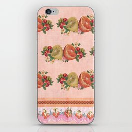 Oranges and Lemons Repeat iPhone Skin
