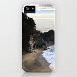 McWay Falls, Big Sur, CA, Sunset iPhone Case