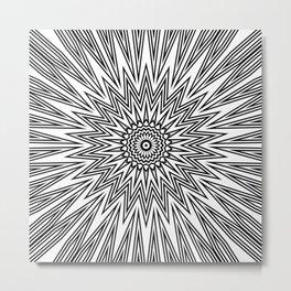 Seemingly Simple III Metal Print