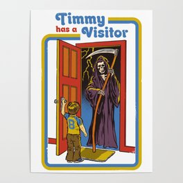 TIMMY HAS A VISITOR Poster