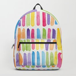 Colorful Dashes Backpack