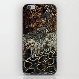Magical Cheetah and Cubs iPhone Skin