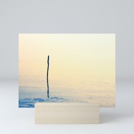 Freezing cold weather on a very calm day Mini Art Print