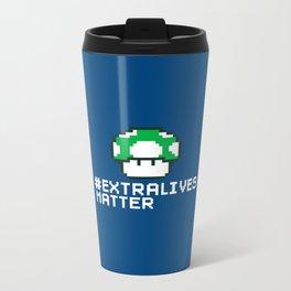 #Extra Lives Matter Metal Travel Mug