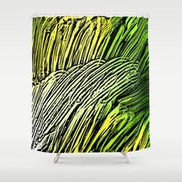 Green Mind Shower Curtain