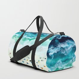 Aerial Beach Duffle Bag