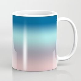 Rose Quartz Lilac Gray Limpet Shell Snorkel Blue Ombre Coffee Mug