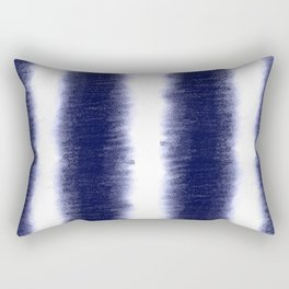 Indigo Pillars Rectangular Pillow