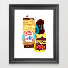 Bread Box Framed Art Print