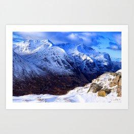 Crazy Mountain Art Print
