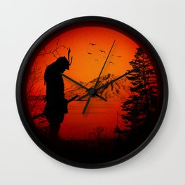 My Love Japan / Samurai warrior Wall Clock