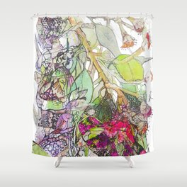 Fairies in the old Gum Tree Shower Curtain
