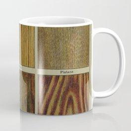 Wood Grain Chart Coffee Mug