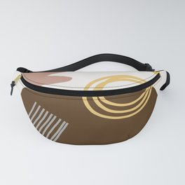 Desert Swimming Abstract Fanny Pack