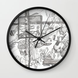 Austerity Assessor Wall Clock