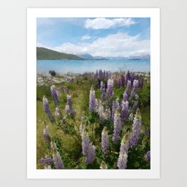 The Nature Art Print