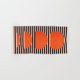 Abstraction_SUNSET_LINE_ART_Minimalism_001 Hand & Bath Towel