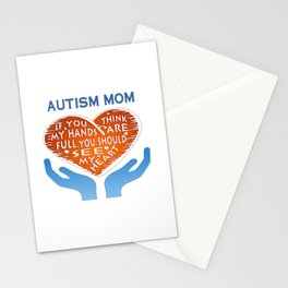 AUTISM MOM Stationery Cards