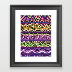 Amethyst Framed Art Print
