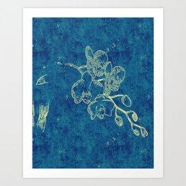 Lucinda's Orchid Art Print