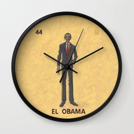 EL OBAMA Wall Clock
