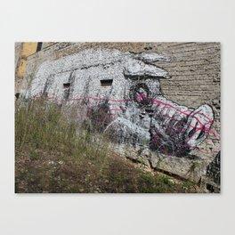 Schweinchen Canvas Print