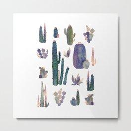 """cactus !"""" Metal Print"""