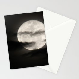 Cloudy Moon Stationery Cards