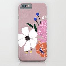 winter floral iPhone 6s Slim Case