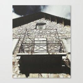 Village Hotel Photograph Canvas Print