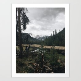 Rocky Mountains, CO Art Print