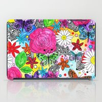 florence iPad Cases featuring Florence  by sarah illustration