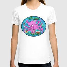 The Krunk Kraken  T-shirt