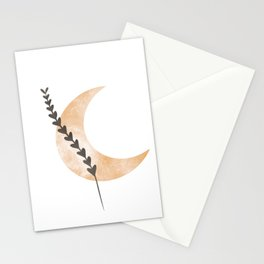 Moon Art  Stationery Cards