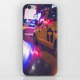 Taxi NYC Life (Color) iPhone Skin