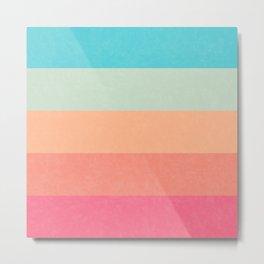 Horizon with lines minimalism Metal Print