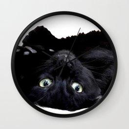 salem the black cat Wall Clock