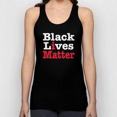 BLACK LIVES MATTER (inverse version) Unisex Tank Top