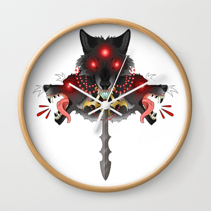 The Three Swordsman Wall Clock