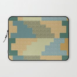 Shapes and dots Laptop Sleeve
