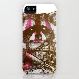 Badass Pets : The Royal Raccoon iPhone Case