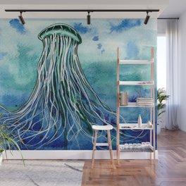 Emperor Jellyfish Wall Mural