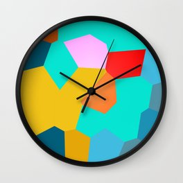 90s Vibes Wall Clock