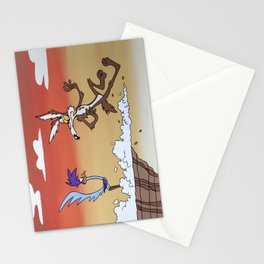 Road Runner Stationery Cards