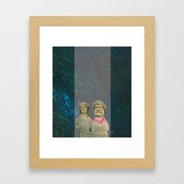 King/Queen Framed Art Print