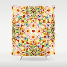 Pretty Pastel Carousel Shower Curtain